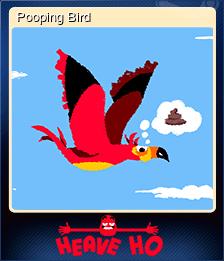 Pooping Bird