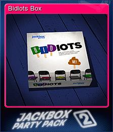 Bidiots Box