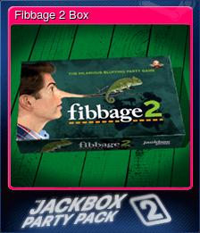 Fibbage 2 Box