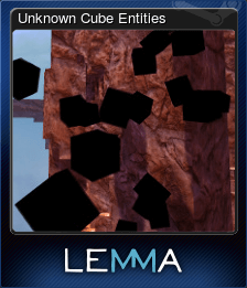 Unknown Cube Entities